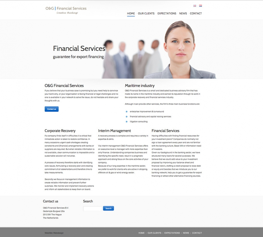 Website OG financial
