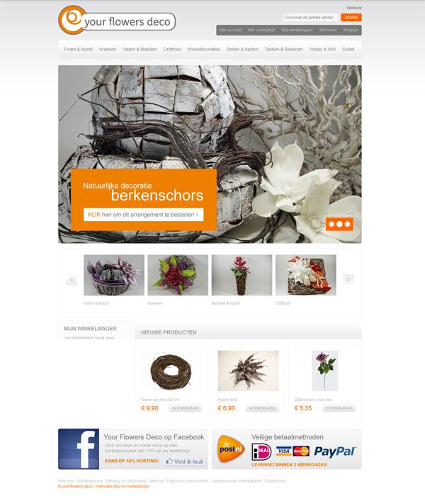Webwinkel Yourflowersdeco