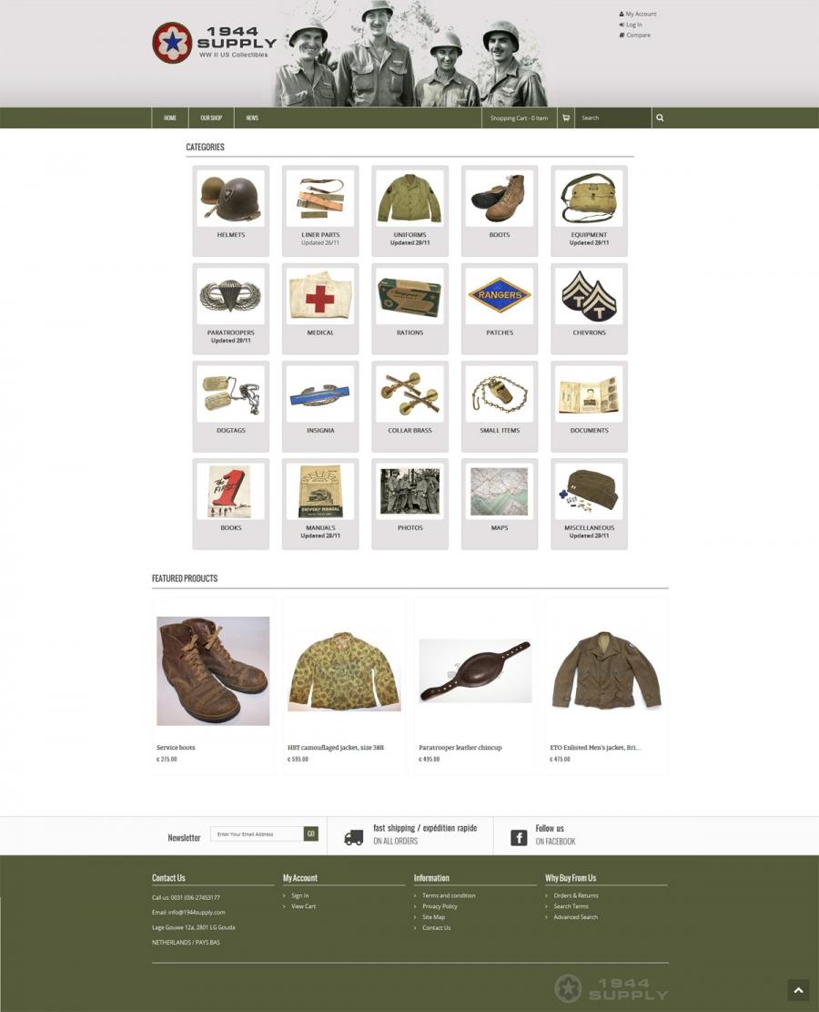 Website 1944 supply