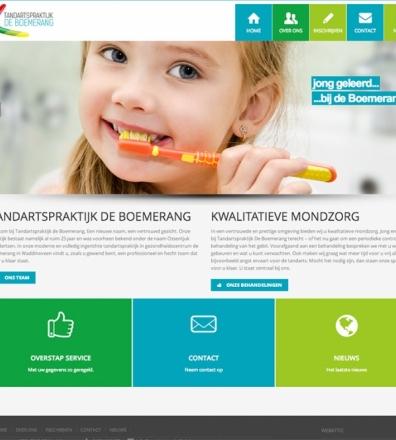 Website tandartspraktijk