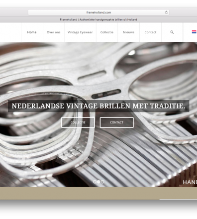 Website Frame Holland