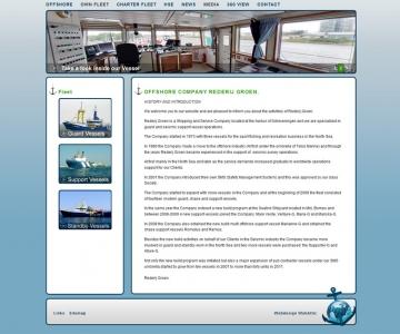 Website Rederij Groen